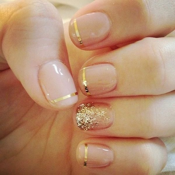 Whitney Port - Bridesmaid Manicure Ideas