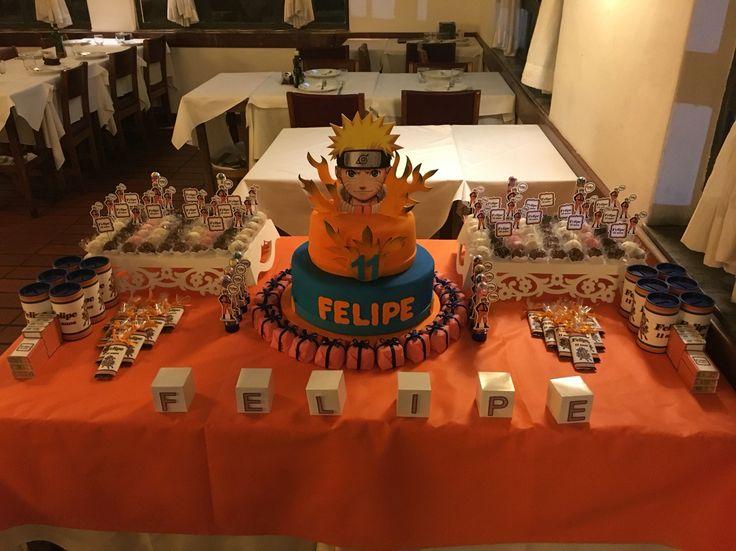 Mesa festa Naruto