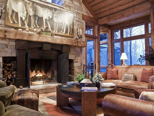 1000+ Images About Cozy Rustic Living Room Design Ideas On