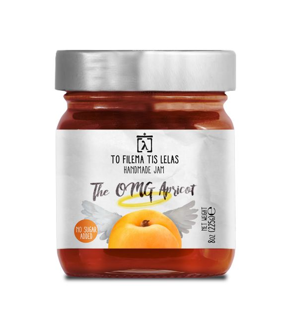 TO FILEMA TIS LELAS - HANDMADE APRICOT JAM