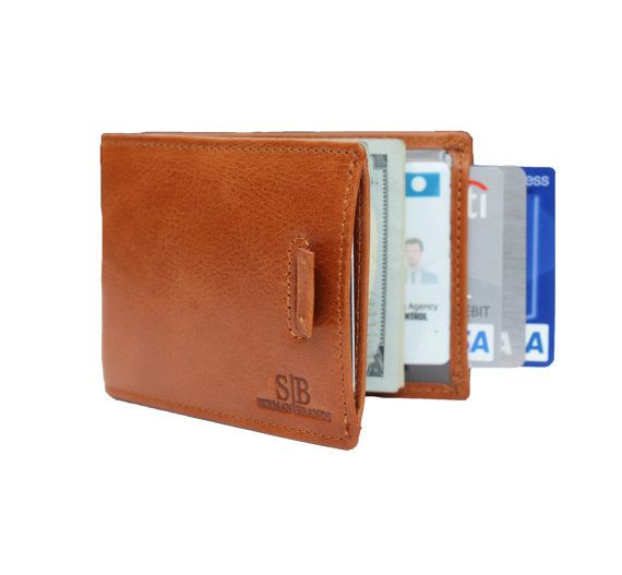 Leather Slimfold Wallet - Ancient keys by VIDA VIDA eXevth0