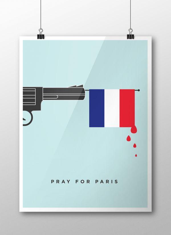 Pray for Paris - Un hommage en illustrations ...