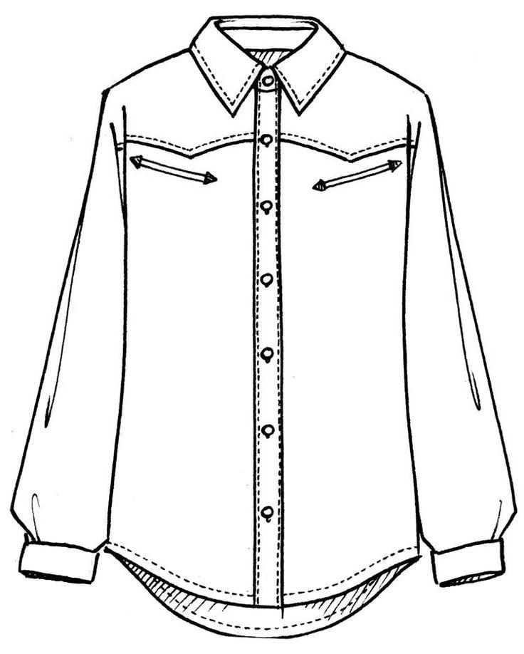 Рубашка картинки нарисованные