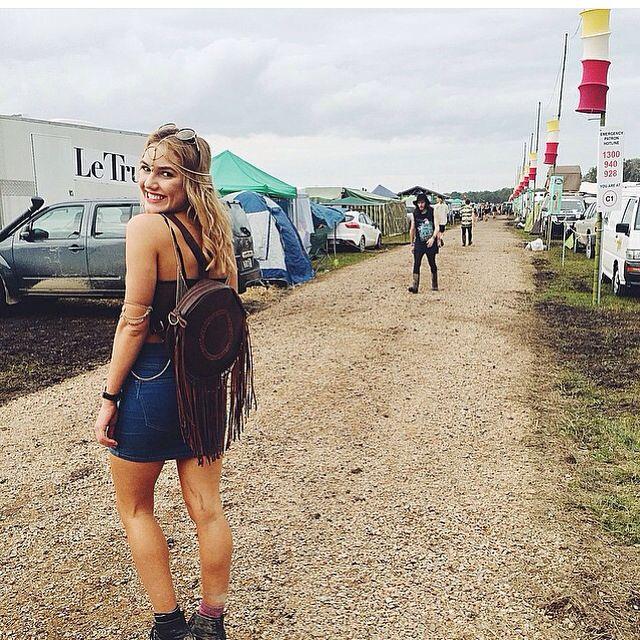 Splendour festival fashion in the mud.