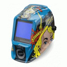 Check out this new welding helmet from Lincoln Electric! Specifically built for women welders! Jessi vs. The Robot