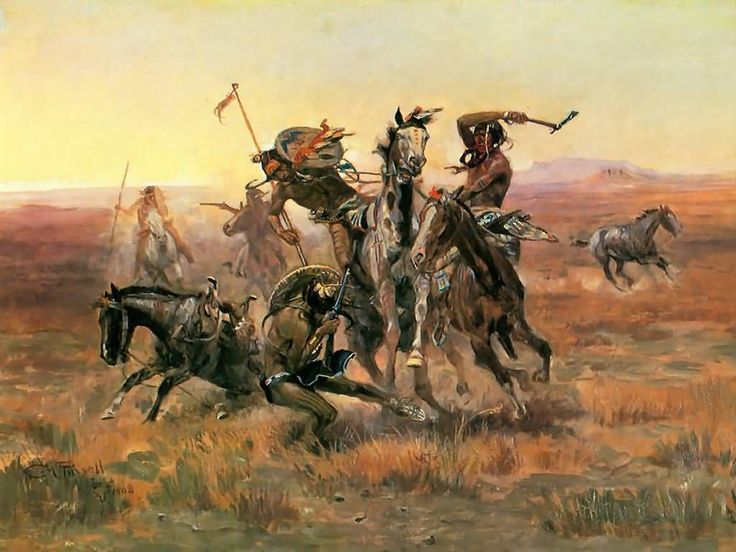 Charlie Russell, one of the best cowboy artists