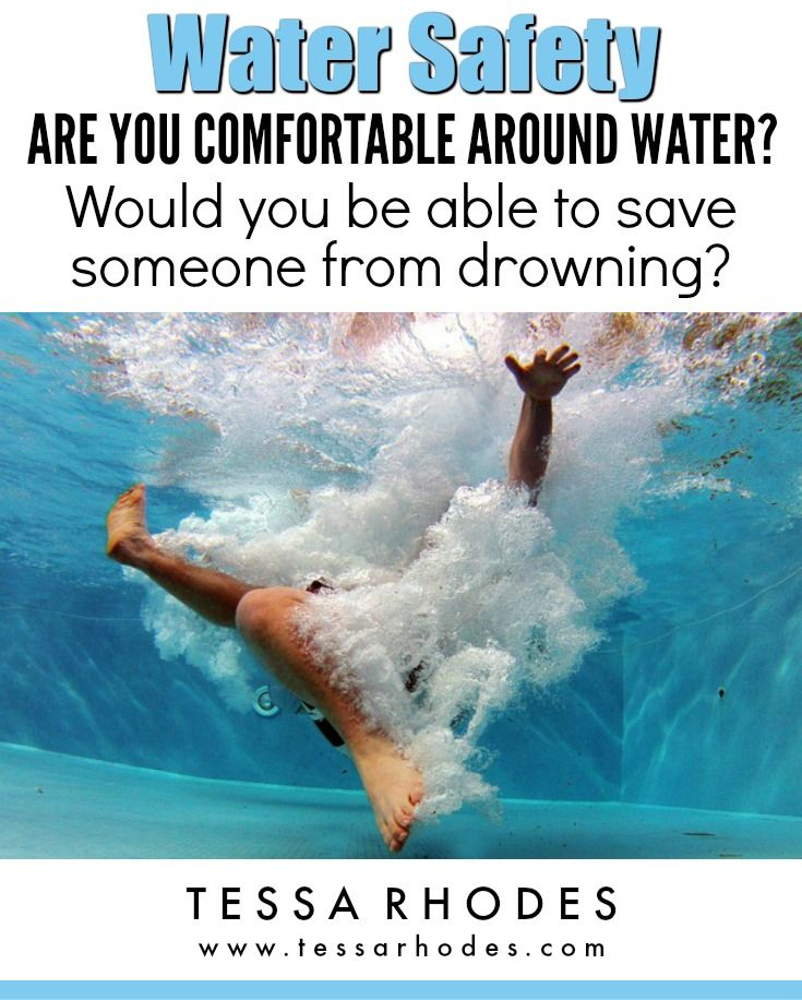Near drowning statistics. Almost 50% of people have had a near drowning experience according to the American Red Cross water safety app. Even if you don't think you want to learn to swim, there are so many reasons to do it. You may end up in water unintentionally. And what about your child? Would you be able to save your child from an accidental submersion? CLICK THROUGH to read the full post. Includes water safety and drowning prevention tips.