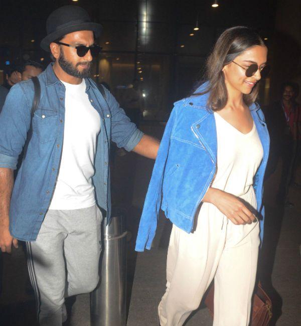 Vacation Done Welcome Back Deepika Padukone And Ranveer Singh Deepika Padukone Ranveer Singh Singh