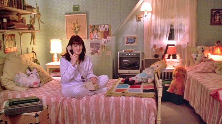 'Teenage Bedrooms on Screen' collects hundreds of images of bedrooms from movies and TV.