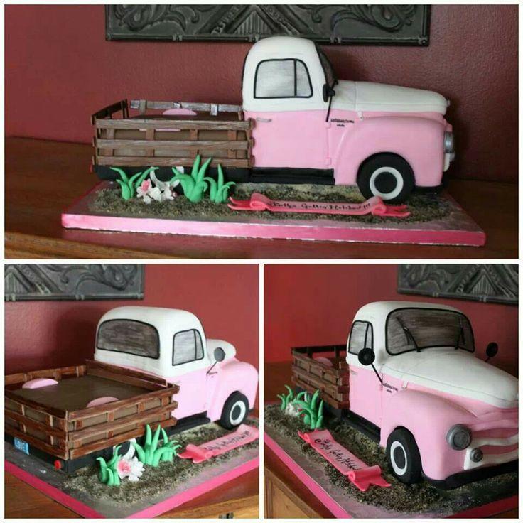 34 Best Truck Cakes Images On Pinterest Car Cakes Truck