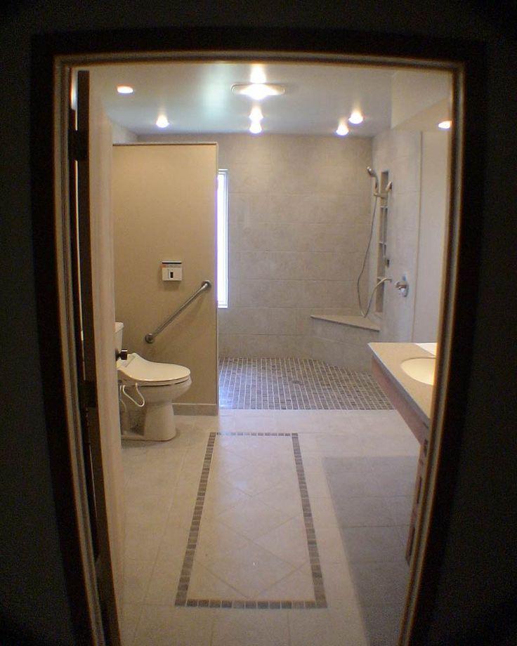 Baño Adaptado Para Silla De Ruedas:Baño Para Discapacitados en Pinterest