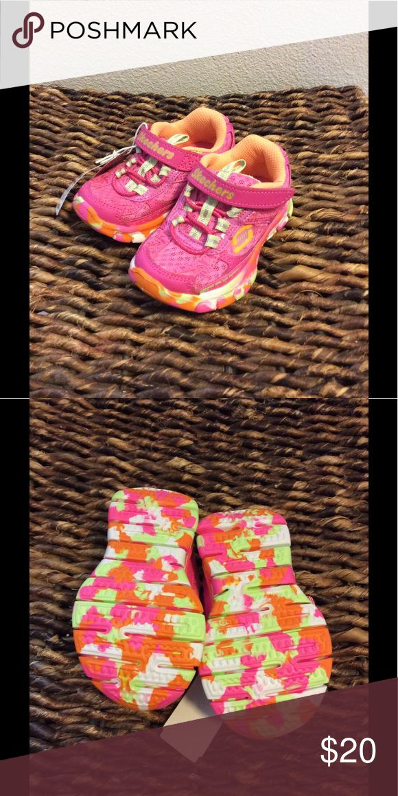 Pink toddler sneakers size 5 New Pink toddler Skechers sneakers size 5 Skechers Shoes Sneakers
