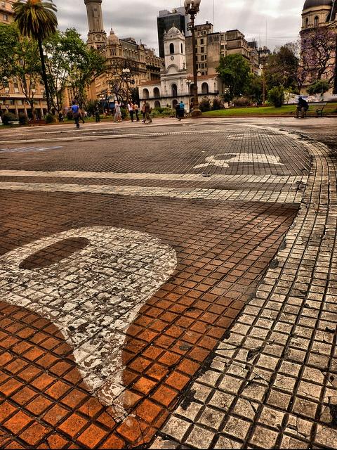 Plaza de mayo. Buenos Aires, Argentina