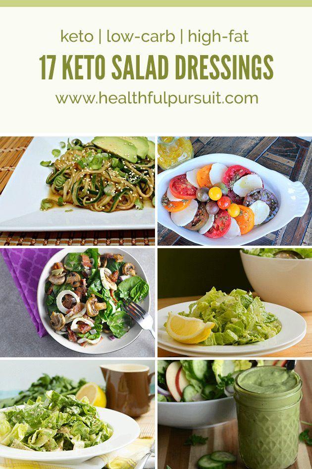 16 Keto Salad Dressings (paleo, too!) #keto #lowcarb #highfat
