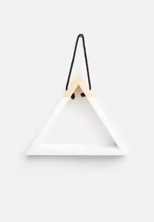 Triangle Hanging Shelf