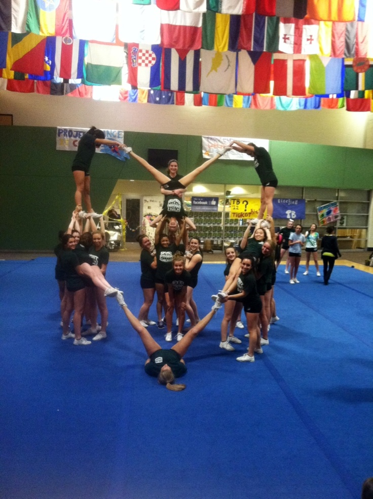 Fred T Foard cheerleaders, lets try this :)