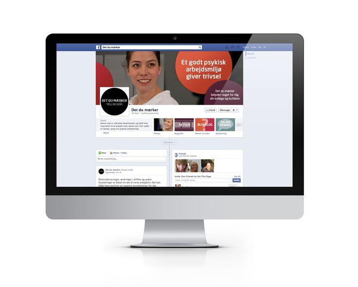 Til sitet hører også en Facebookside, hvor dialog og videndeling kan fortsætte.