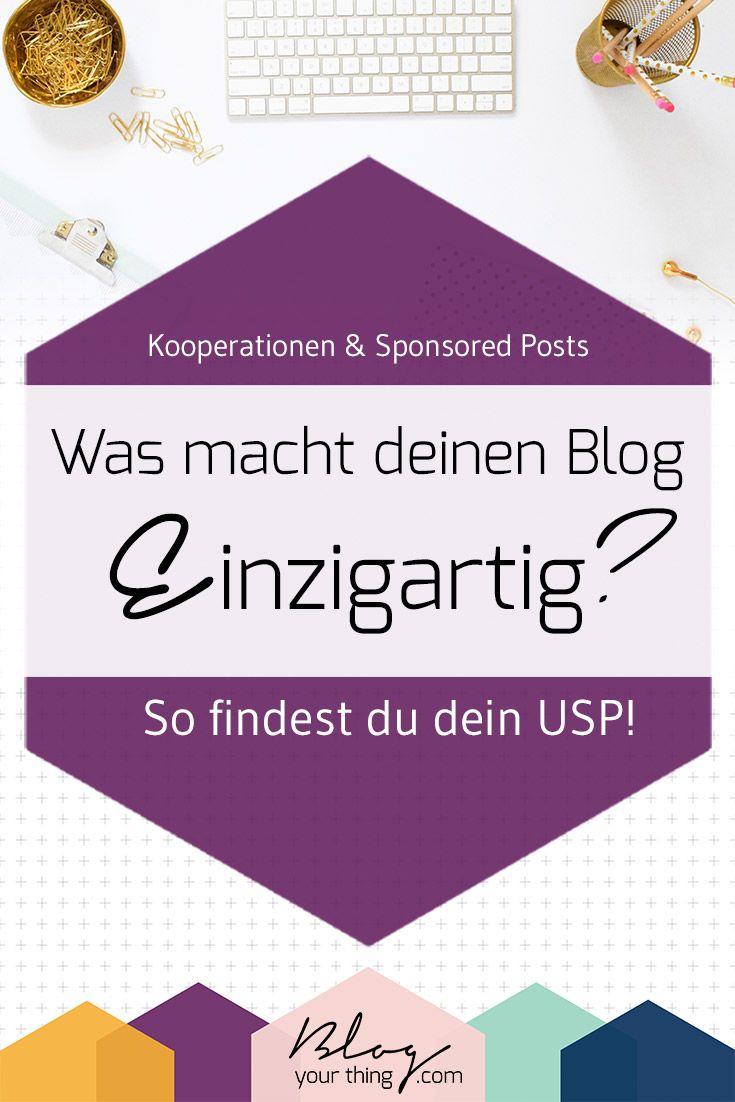 Was macht deinen Blog einzigartig? Wie findest du dein USP? Und warum ist es für Kooperation mit Unternehmen so wichtig? Inklusive Real Life Beispielen von bekannten Bloggern. Klick hier und finde heraus was dein USP ist oder merke dir den Pin für später!