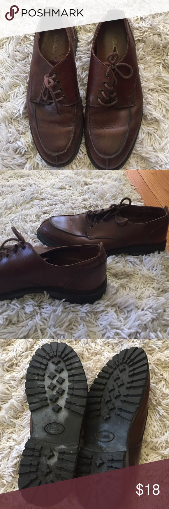 Men's Brooks Brothers shoes Brown, soles in good condition, some signs of wear Brooks Brothers Shoes