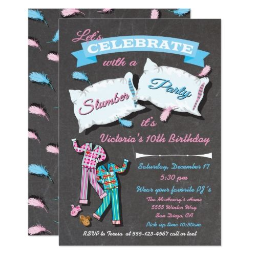 122 best Girlu0027s Chalkboard Birthday Invitations images on Pinterest - best of invitation birthday party text