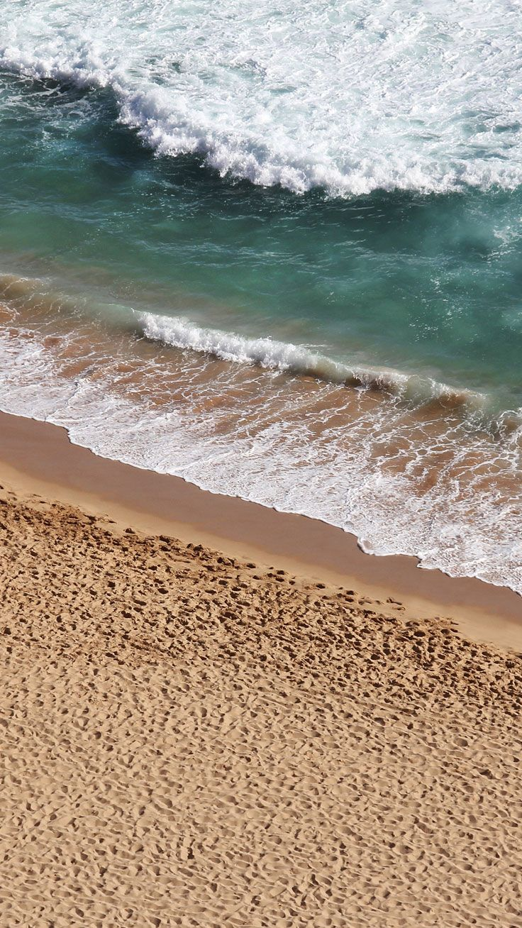 Beach and Waves ★ Preppy Original 28 Free HD iPhone 7 & 7 Plus Wallpapers