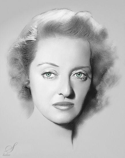 Bette Davis by shahin