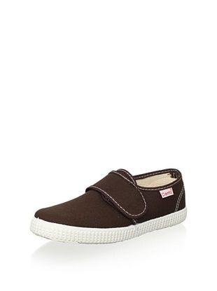 45% OFF Cienta Kid's Hook-and-Loop Sneaker (Marron Brown)