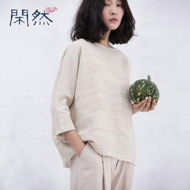 XianRan Женщины Свободные Блузки Повседневная Хлопковые Рубашки Раза Простой Плюс Размер Блузки Высокое Качество Бесплатная Доставка купить на AliExpress