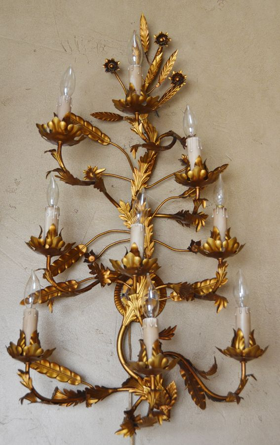 Decorative Electric Wall Sconces : 556 best images about Paris Couture Antiques on Pinterest French chandelier, Wall sconces and ...