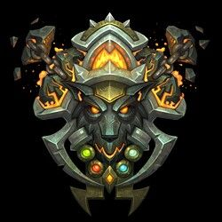 Shaman crest world of warcraft | Emblem | Pinterest ...