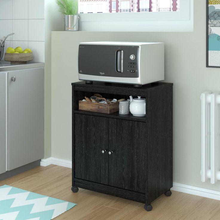 Nexera 2 Door Mobile Microwave Cart: 1000+ Ideas About Microwave Cart On Pinterest