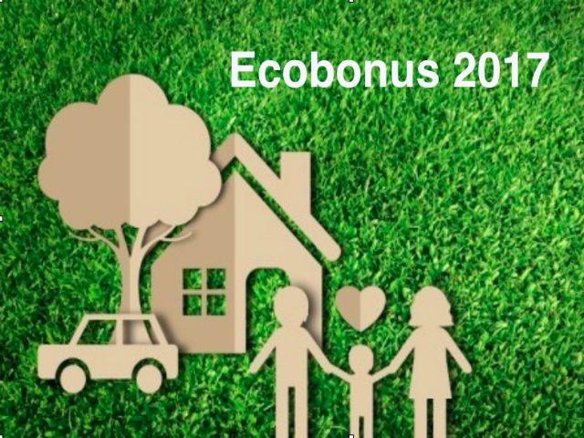 Ecobonus 2017 come funziona e a chi spetta Funziona