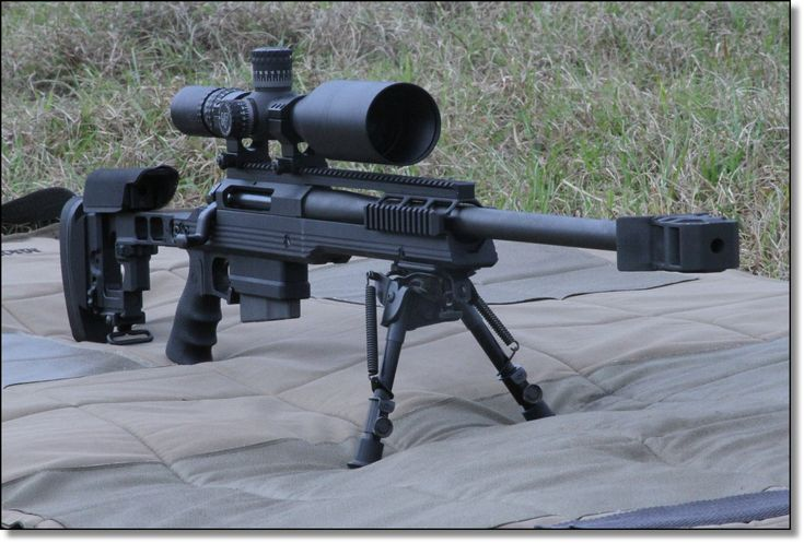 ArmaLite AR-30A1 Sniper Rifle – .338 Lapua - Sweet