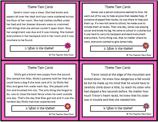 17 Best Images About Task Cards On Pinterest Context