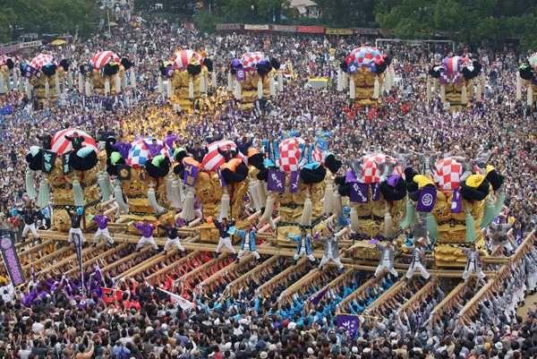 新居浜太鼓祭りの画像