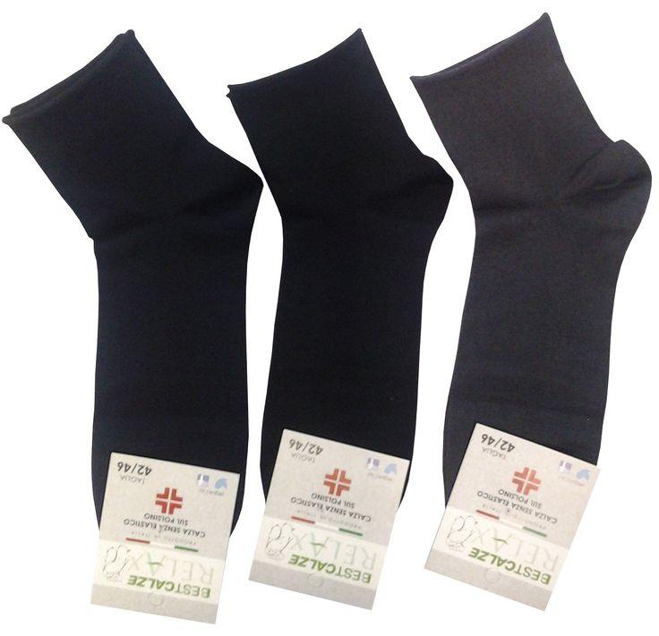 12 paia di calze corte da uomo in cotone filo di scozia elasticizzato (4  blu, 4 nero, 4 antracite)