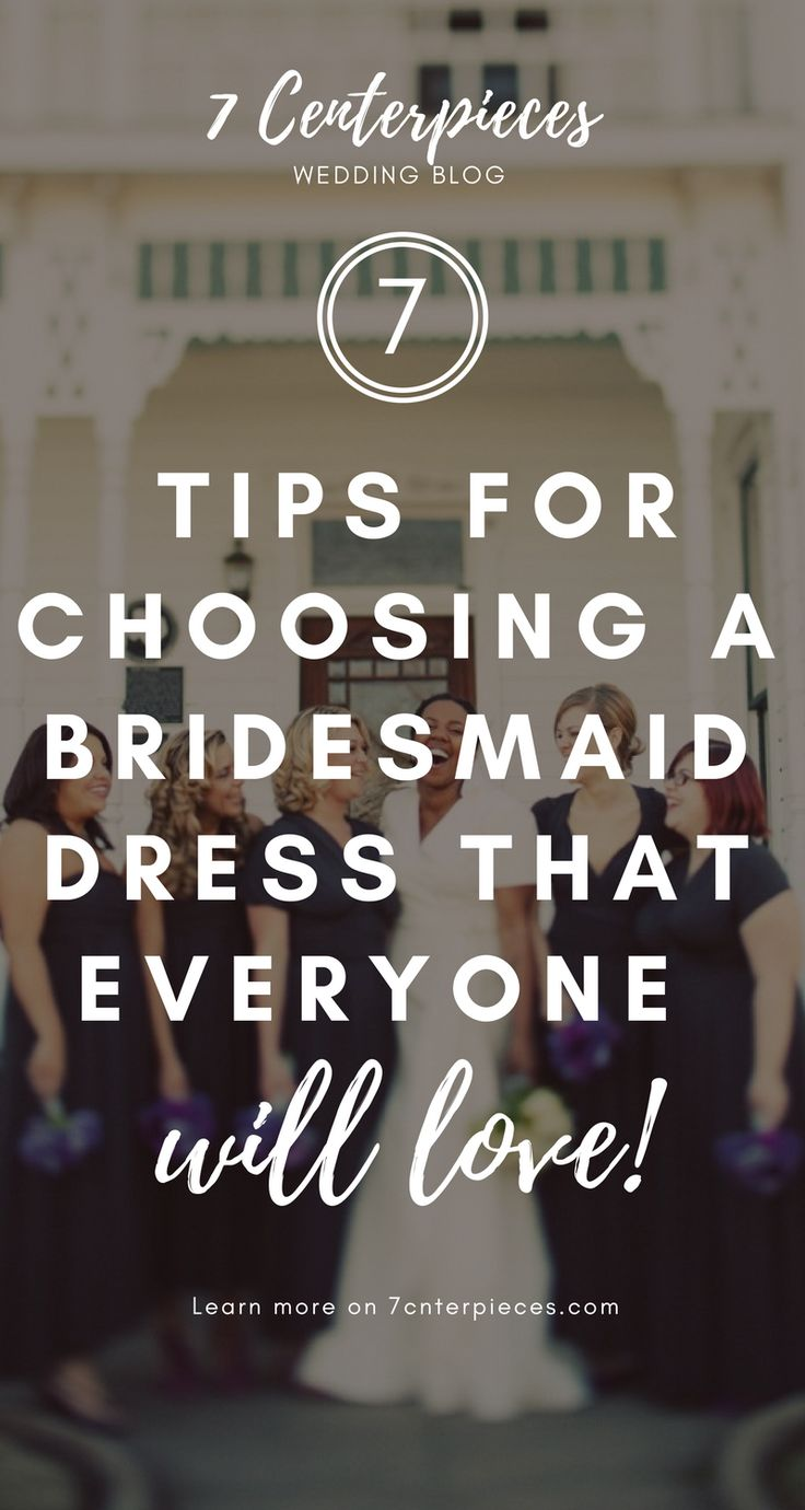 Choosing a bridesmaid dress that all my girls would love was so stressful. I wish I had read this GREAT ARTICLE that contains so many practical tips. PIN IT NOW! You won't regret it!