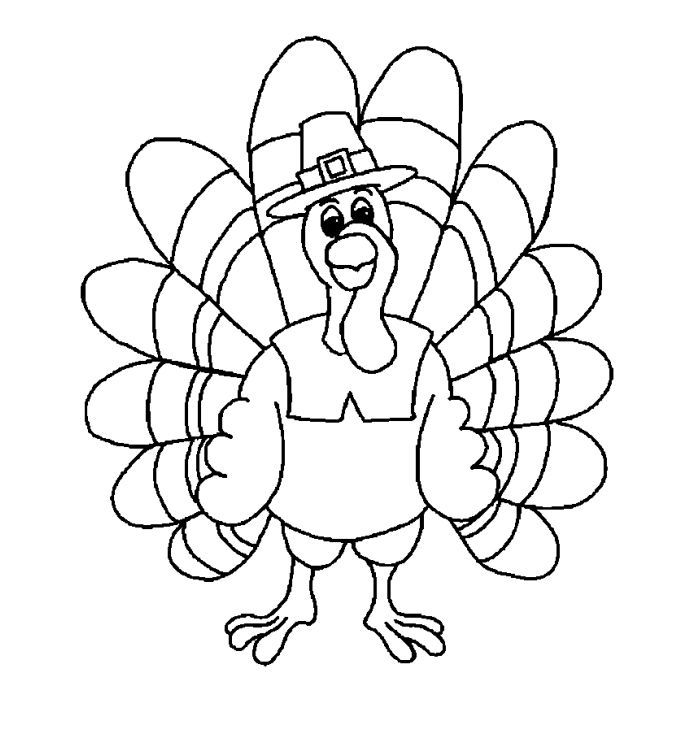 Printable Turkey Coloring Sheets For Kids Turkey Coloring Pages