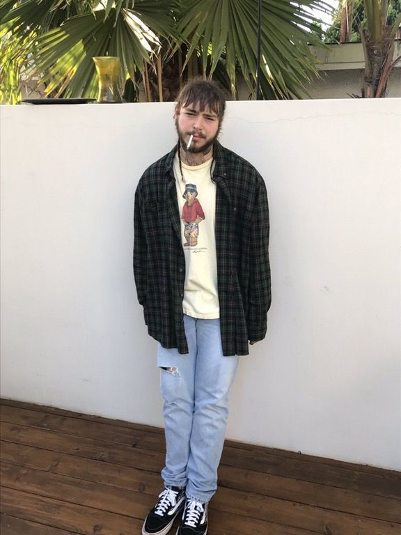 Thoughts on Post Malones fit? : streetwear