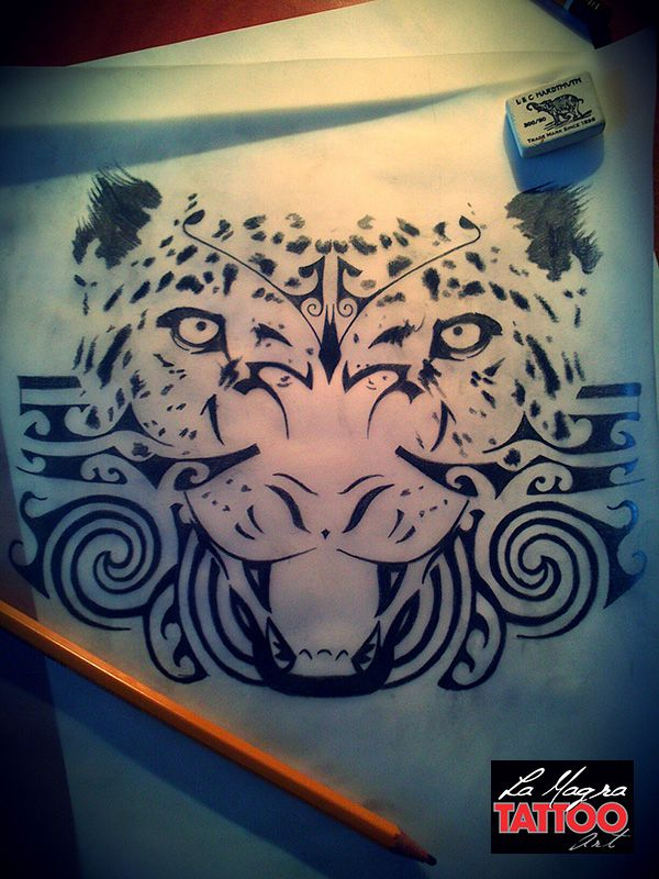 #maori #panther #tattoo #design