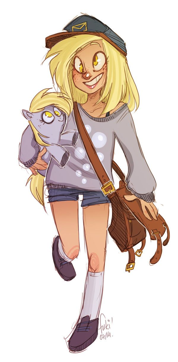 derpy messenger by Fukari.deviantart.com on @deviantART