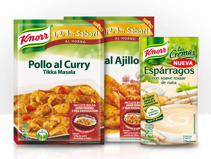Pack de productos Knorr - SmileBox  http://www.smile-box.es/producto/pack-de-productos-knorr