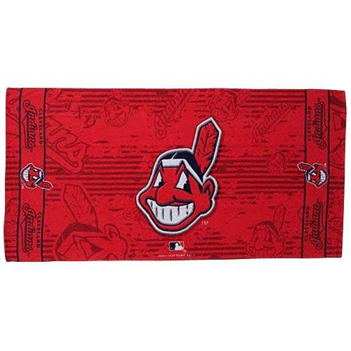 MLB ビッグタオル クリーブランド・インディアンス(B) Cleveland Indians Beach Towel (B)【楽天市場】
