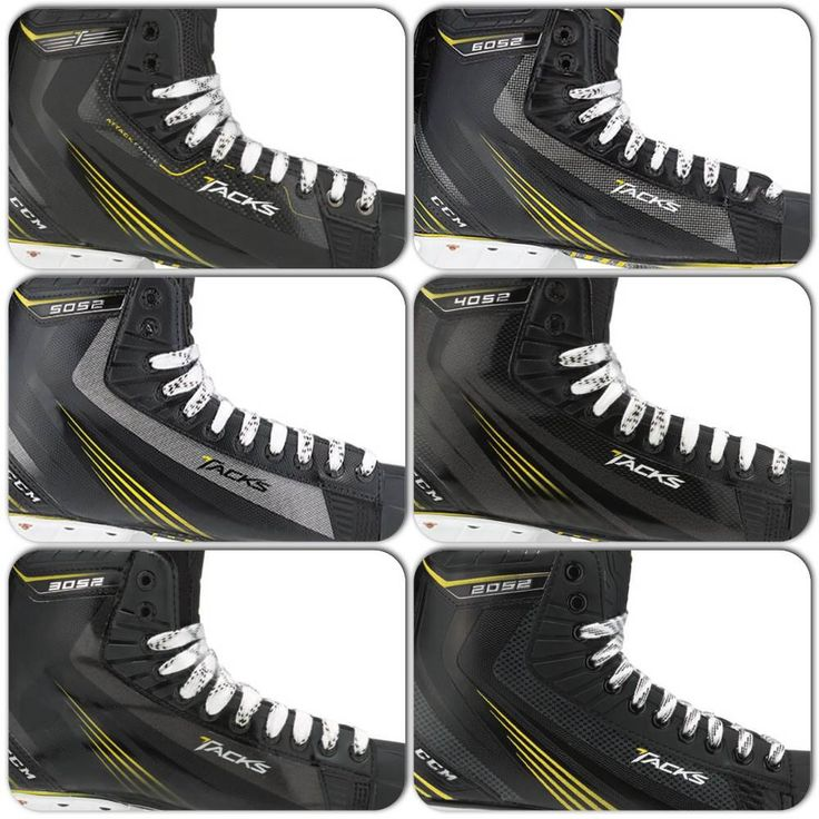 The new CCM Tacks skates are available in 6 different models. View the 2014 Tacks Collection at http://www.prohockeylife.com
