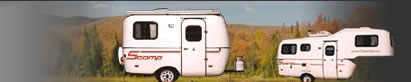 If I am forced to go camping I want a Scamp!! The cutest little trailer ever!!!