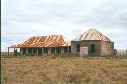 Abandoned homestead in Outback Australia