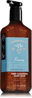 Aromatherapy Focus - Eucalyptus & Tea Deep Cleansing Hand Soap - Bath And Body Works