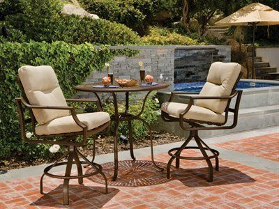 Tropitone Windsor Cushion Bar Patio Aluminum Dining Set By Tropitone.  $3250.82. Tropitone Tropitone Windsor