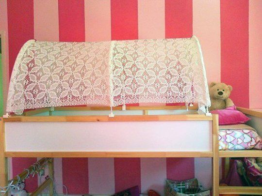 31 best images about ikea kura bed on pinterest play for Ikea hack plateforme lit