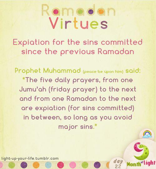 Month Of Light Ramadan Virtues Virtue (5)
